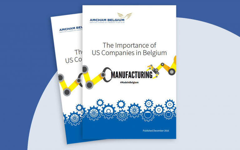 AmCham Belgium - The Importance of US Companies in Belgium - 2016 manufacturing report
