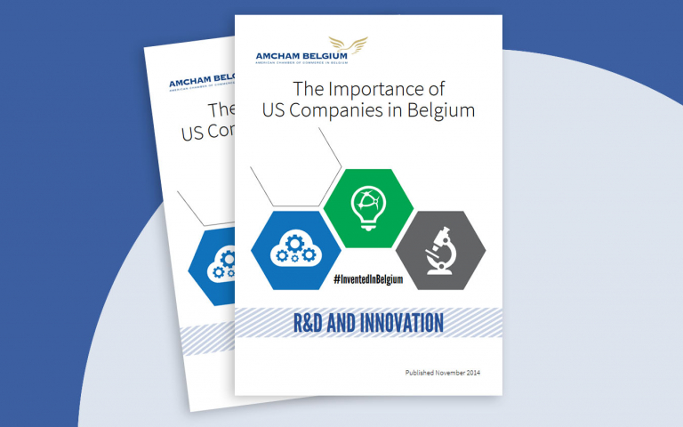 The importance  of US Companies in Belgium - R&D and Innovation report