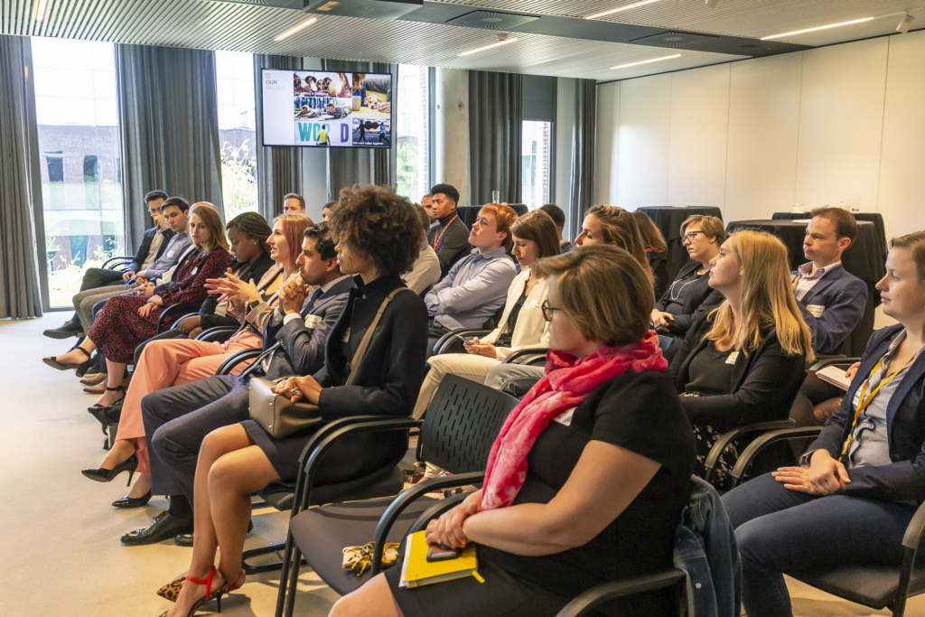 AmChamYPC - Young Professionals @ Noon event with John Porter at Telenet