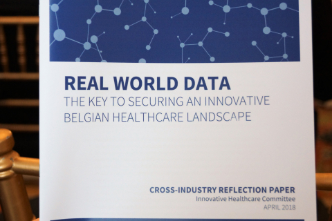 Real World Data - The Key to Securing an innovative Belgian Healthcare Landscape