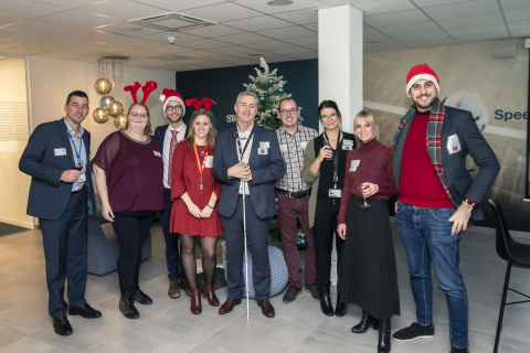 "AmCham Belgium, ""Holiday Mingle & Jingle"" 2019 event at GTT Communications"