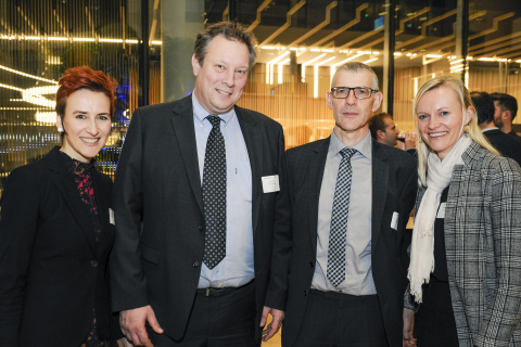 AmCham Belgium, New Year Reception 2019 event at KPMG Belgium