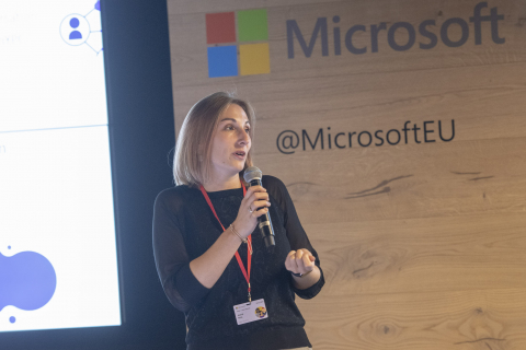 Young Professionals Networking Night with Philipe Gosseye at Microsoft Brussels